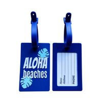 Cartoon 3D Soft Rubber Luggage Tag For Travel Bags thumbnail image