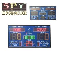 Basketball electronic scoreboard,LED digital electronic scoreboard