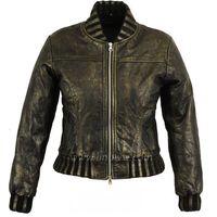 High Quality Soft Thin Ladies Fashion Leather Jacket thumbnail image