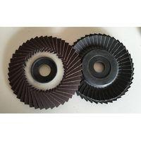 4inch 100mmx 16mmFired aluminium oxideFlexible Flap Disc-metal backing