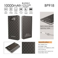 Wireless mobile power bank 10000mah battery power bank set high conversion