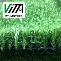 Vita Soccer Artificial Grass,Holland Imported Non Infill Football Artificial Grass VT-MSTC25 thumbnail image