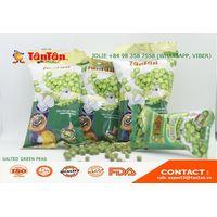 SALTED GREEN PEAS - Healthy Snack Food Factory (Tan Tan Vietnam, Jolie 84983587558)