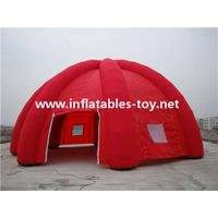 Red Inflatable Spider Legs Tent for Event