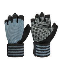 Long wrist support weight lifting glove(017)