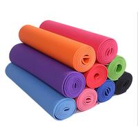 High density eco-friendly custom print TPE EVA NBR yoga mat