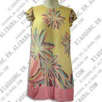 printing cotton casual dress