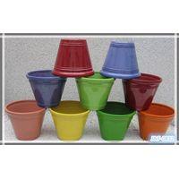 Sell cheap shining color plastic planter pots thumbnail image