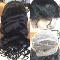"""Human wigs full lace wig straight/body wave/loose wave/deep wave/curly frontal wig 12""""-26"""" thumbnail image"""