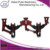 YUANZHENG tandem German Style Trailer Suspension BPW parts for trailer