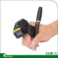 FS01 Ring- style wireless scanner bluetooth inventory barcode scanner with long battery life