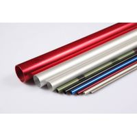 colorfull customized sizes extrusion aluminum aluminum pipes
