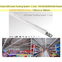 LED Linear Trunking system for supermarket