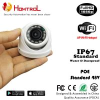 IP67 Waterproof 1080P Outdoor WiFi Mini Dome IP Camera with 2.8mm 2 Mega Pixel Lens