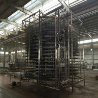 Automated Spiral Refrigerator Belt Conveyor Cooling Bread Machine Automation thumbnail image