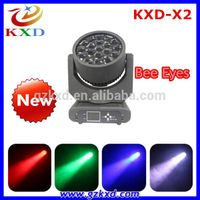 New Arrival 19pcs*12w High Power RGBW moving head led light