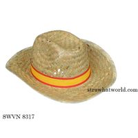 Fedora Strohhut, Promo Mafia Strohhut, Fedora Straw Hat