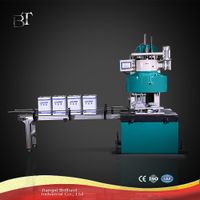 Automatic square tin can sealing machine