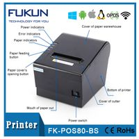 Shanghai Fukun Pos 80mm Thermal Printer With Auto Cutter