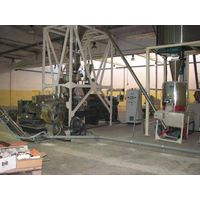 Two Stage Extruder For Wood Plastic Compounding