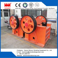 Jaw stone crusher machine for mining stone