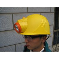 Intergration Safety Helmet With LED Torch