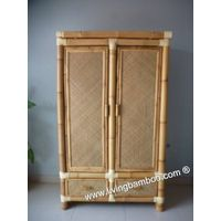 Bamboo Wardrobe For Home Furniture, Indoor Funiture