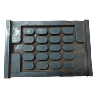 Railway Parts High-performance Elastic Rail Pad under track against vibration and noise