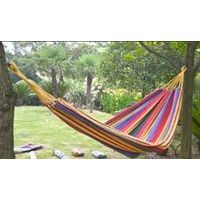 Canvas hammock 2 person thickening colorful for garden outdoor camping hiking thumbnail image