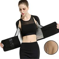 Women Burst Slim High Waist Tights Sweat Clothes Compression Shirt Tops Fat Burner Belt gym wear thumbnail image