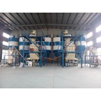 Workshop-type dry mortar production line with Low investment