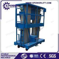 Portable 10M aluminum mobile street light lift platform