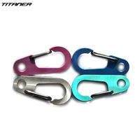 Titaner Titanium Every Day Carry Carabiner Men's Outdoor Accessories