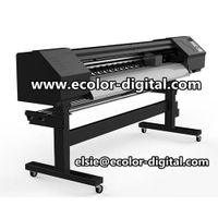 1.6m Indoor Inkjet Printer with Epson DX7, Paper Printing Machine