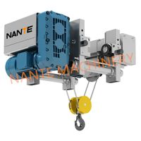 NHA electric wire rope low headroom hoist