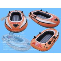 Custom design thicken PVC material two person inflatable boat
