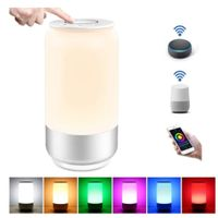 Smart RGB LED Table Lamp,Works with Alexa,Besides Lamp,Mood Lighting,WiFi thumbnail image