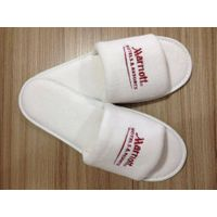 hotel embroidery slipper