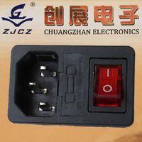 ac power socket with switch