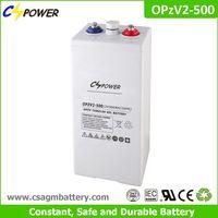 2v 500ah OPzV Tubular Gel Solar Battery