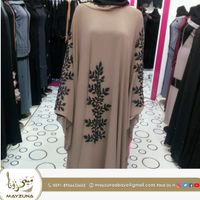 New Embroidered Arab Abaya