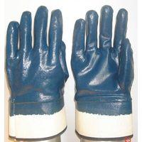 Bule Nitrile fully coated glove GSP3320