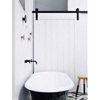 Modern Sliding Barn Wood Door Hardware Interior Or Exterior
