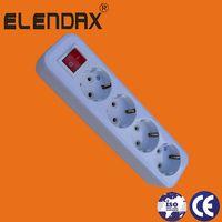 4 way Extention cord group socket (E8004ES) thumbnail image