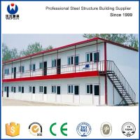 Low Cost Sandwich Panel Prefab House Steel Structure Frame thumbnail image