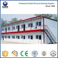 Low Cost Sandwich Panel Prefab House Steel Structure Frame