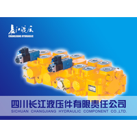 DC series multiple directional Hydraulic Valve