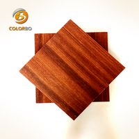 Micro perforated wooden timber acoustic panel
