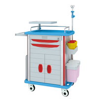 JH-ET850-02 medcial equipment hospital Emergency trolley
