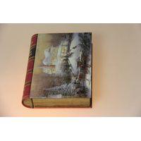 Factory Supply Grade-A Metal Book Shape Chocolate Box